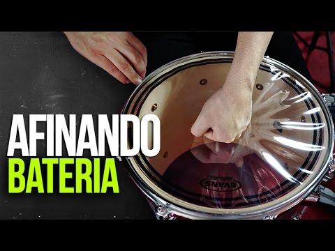 AFINA TU BATERIA + Cambiando Parches