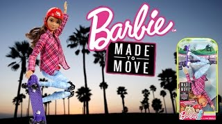 Barbie Snodata - Made to Move: Skater (2017) Recensione / Review ITA