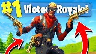 The REVOLVER Only CHALLENGE in Fortnite Battle Royale!