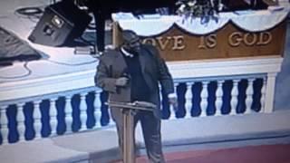 """Rev. Melvin L. Sanchez singing """"I got the River of Living Water!"""""""