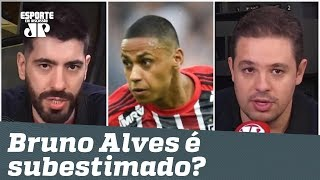 """Subestimado? Zagueiro do São Paulo é EXALTADO: """"um dos MELHORES do BRASIL!"""""""