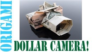 Origami Daily - 179: Digital Camera (dollar Bill Camera) - Tcgames [hd]