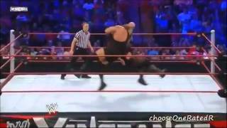Big Show Vs Mark Henry - Vengeance 2012 - Highlights HD