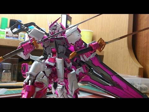 Mg 1/100 Custom Pink Astray Red frame Ver Kai Paint Review