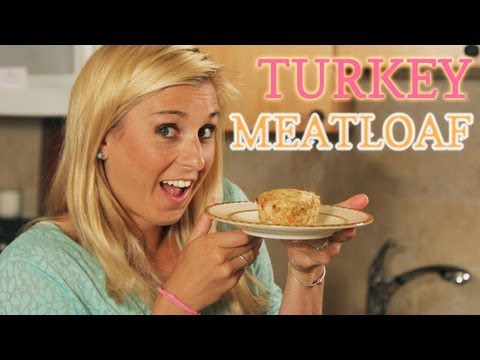 Healthy Turkey Meatloaf | Sarah Dussault