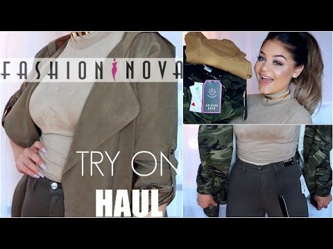 Fashion Nova FALL Try On Haul | Blissfulbrii
