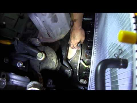 1997 Toyota Camry LE 2.2L Radiator Replacement.wmv