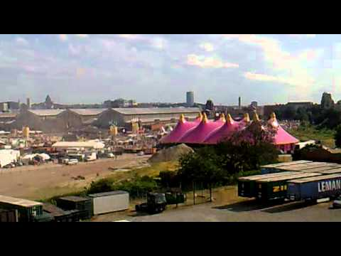 Couleur Cafe from the 5th floor 30.06.2012 tour and taxis