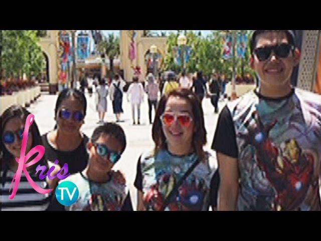 Kris TV: Kris, Bimby and Josh's Hawaii trip