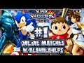 Super Smash Bros 3DS - (1080p) Online Matches #1 - VS BlahblahLPs