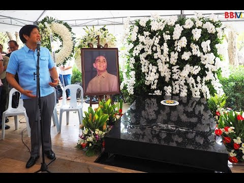 Sen. Bongbong Marcos' Speech during the Kailian visit at the LNMB