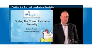 Aviagen: Finding the Correct Incubation Humidity