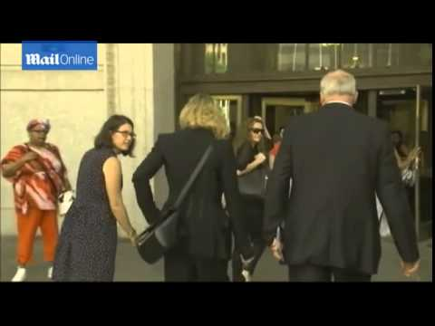 Madonna arrives for jury service in NYC