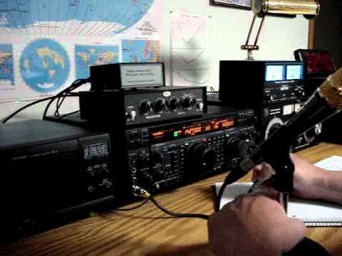 2O12L Olympics Amateur Radio contact via SSB on 14.273Mhz