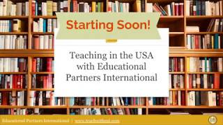 Teaching in the USA with Educational Partners International 12.14.18