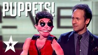 10 Amazingly Funny Ventriloquist Acts on Got Talent
