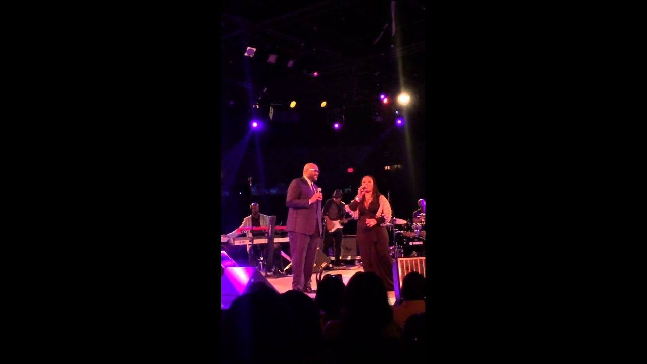 "Lalah Hathaway & Ruben Studdard ""If This World Were Mine"" - YouTube"
