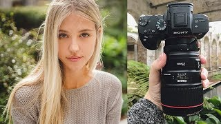 Sony A7III Natural Light Photography Behind the Scenes