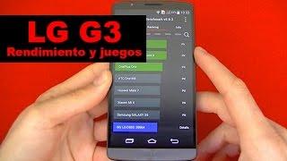 LG G3: Rendimiento y Juegos (en español)