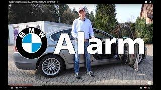 Ampire Alarmanlage CAN3903V im BMW 5er F10/F11
