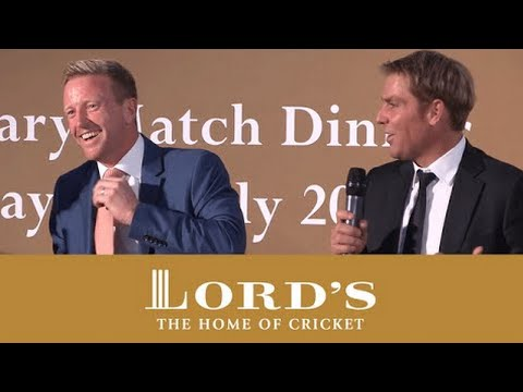 Paul Collingwood & Shane Warne on Sledging | MCC vs Rest of the World Dinner