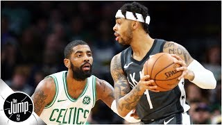 Kyrie Irving or D'Angelo Russell: Whom should the Nets choose? | The Jump