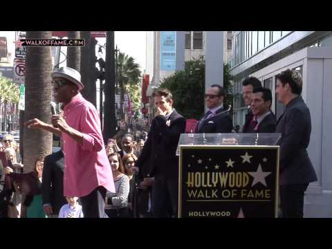 NEW KIDS ON THE BLOCK HONORED WITH HOLLYWOOD WALK OF FAME STAR