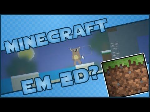 Minecraft em 2D? - Mine Blocks (GRÁTIS)