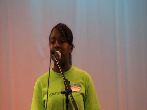 Samantha Bogle singing Heres Where I Stand by Tiffany Taylor Video