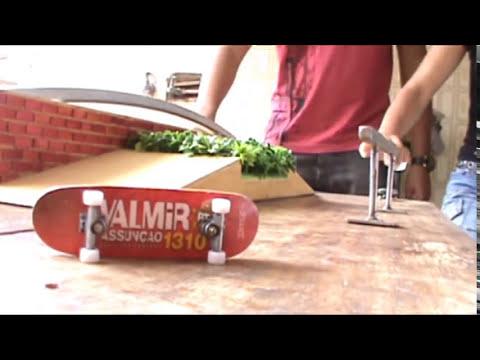 Valmir Assunção campeão fingerboard