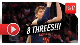 Kyle Korver Full Highlights vs Pacers (2017.02.08) - 29 Pts, 8 Threes, ON FIRE!
