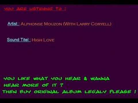 Alphonse Mouzon Our Love Is Hot