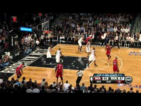 Miami Heat vs Brooklyn Nets - Game 4 Highlights - NBA Playoffs 2014