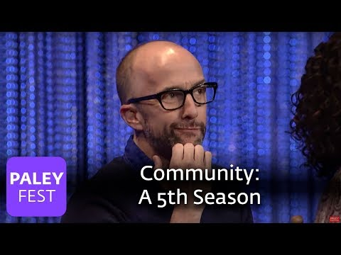 Community - Dan Harmon, Joel McHale on Bringing Back the Show for a 5th Season