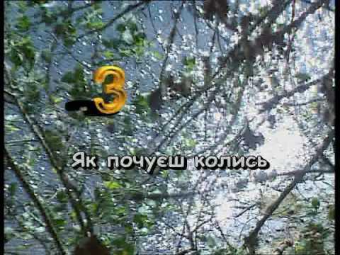 ЧАС РІКОЮ ПЛИВЕ — караоке Українська народна пісня Ukrainian folk song karaoke