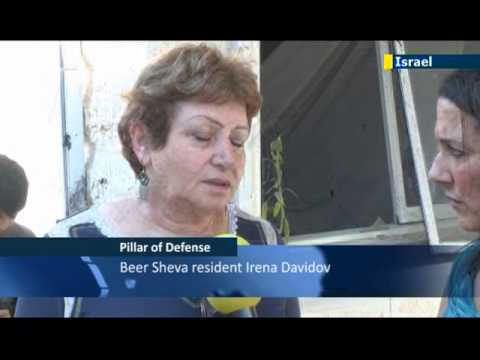 JN1 reports from Beer Sheva after Gaza rocket attack