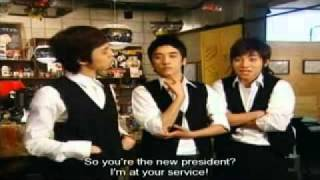 Big Bang Coffee Prince Parody part 1 (english sub)