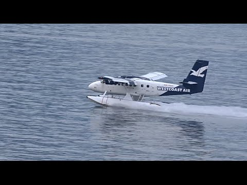Seaplane Spotting (1080HD) | DHC-6-100 Twin Otter | DHC-3 Turbine Single Otter |  DHC-2 Beaver |