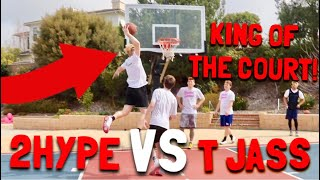 Mini Hoop King Of The Court vs 2HYPE!