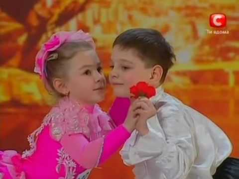 Ukraine's got talent very cute children performance (english subtitles)