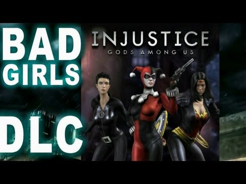 Injustice Gods Among Us - Bad Girls Skin Pack