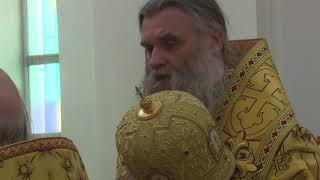 Архиерейское служение в городе Валуйки, 22 ноября