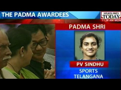 Padma Awards: Live Visuals From Ceremony In Delhi