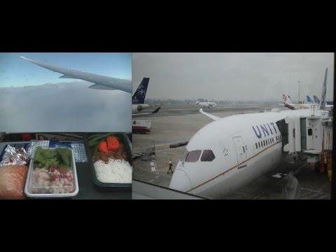 United Airlines 787-9 Dreamliner Economy Class Flight Report   UA870 SYD-SFO 