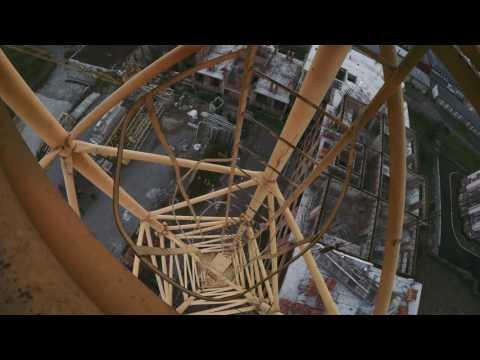 Roofing On Crane (Nalchik In 4k)