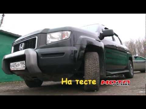 Тест Honda Ridgeline RTX