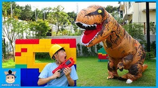 Dinosaur Escape Room Challenge Kids Family Fun Play | MariAndFriends