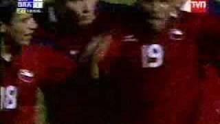 Gol de Beausejour asil (Preolimpico sub 23, Concepción)