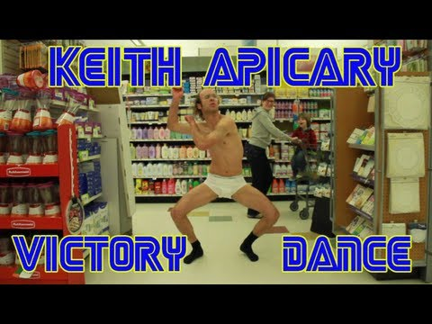 Keith Apicary s Victory Dance