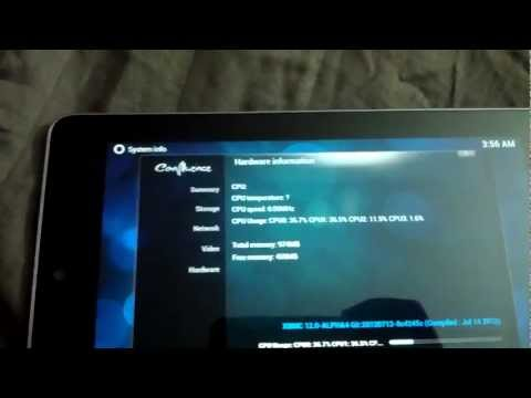XBMC ON NEXUS 7 TABLET